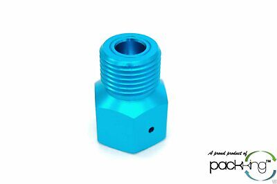 Adapter Converts CO2 Paintball Tank to Standard CGA320 Male Fitting - WRCO2-5A4