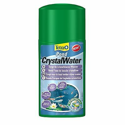Tetra Pond Crystal Water DIRTY MURKY BROWN CLEANER CLEAR 250,500 ml,3L