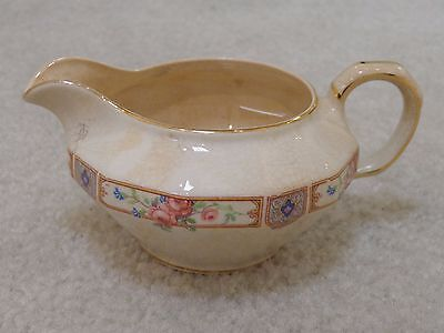 Vintage Edwin M Knowles China Semi Vitreous Creamer in Plaza
