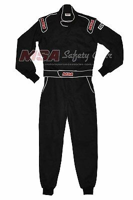 Racing Suit SFI 3.2A/1 Approved, MSA Single Layer Racing Suit, Size Small