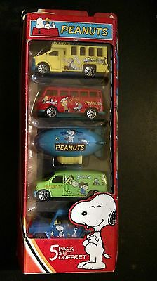 Matchbox 2003 Snoopy Peanuts S/5 Toy Cars