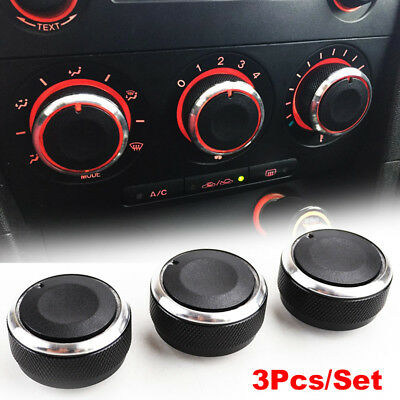 Fit For Mazda 3 04-09 Heater Knobs Dials A/c Switch Buttons Control Aircon Heat