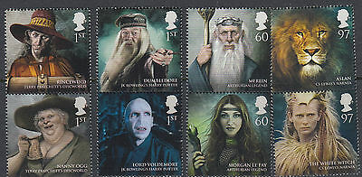 Great Britain 2011 - Magical Realms (Set of 8 Stamps)
