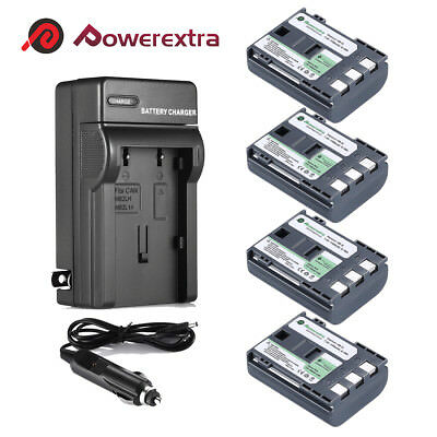 NB-2LH NB-2L Battery + Charger for Canon Rebel XT XTi PowerShot S30 G7 G9 HG10