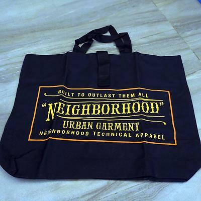 Neighborhood NBHD Large Capacity Canvas Tote Bag Japanese Magazine Pullout