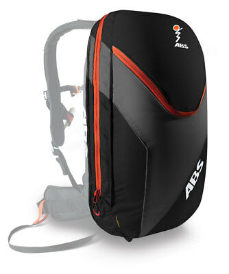 ABS Vario 18 Zip-On Packsack  black/orange