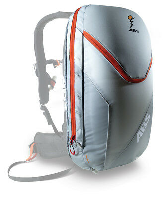 ABS Vario 18 Zip-On Packsack  silver/orange