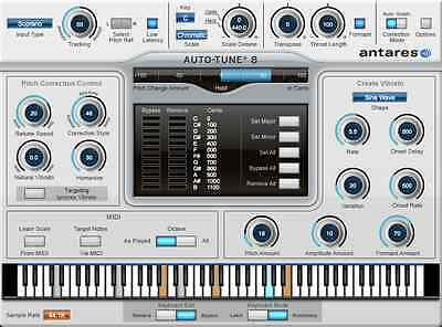 NEW Antares Auto Tune 8 Native Pitch Correction Audio Editing PC/MAC eDelivery