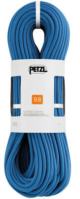Petzl 9,8 mm Contact Kletterseil blau 60m