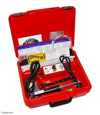 AUTOMOTIVE PLASTIC WELDER KIT - welding plastics radiator repair tool tools