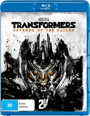 Transformers 2: Revenge of the Fallen Blu-ray Region B (New)!