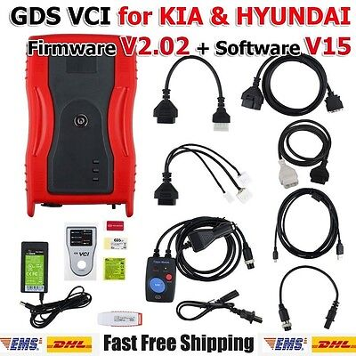 New GDS VCI for HYUN-DAI with Trigger Module Firmware V2.02 Software V15
