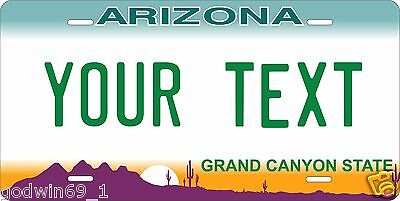 Arizona 1997 Tag License Plate Personalized Auto Car Custom VEHICLE OR MOPED