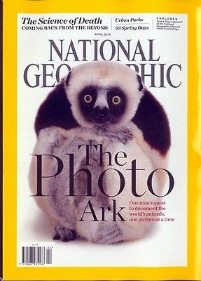 National Geographic Magazine April 2016 ~ Photo Ark ~ After Life ~Armenia