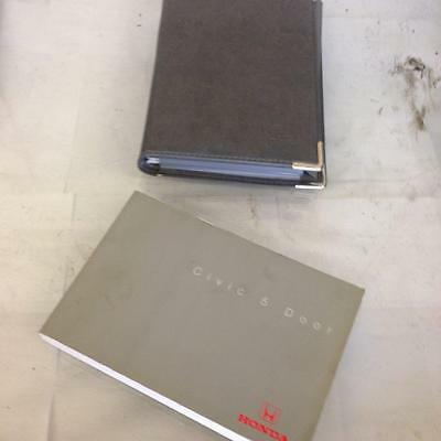 2002 Honda Civic Drivers / Owners Manual With Wallet