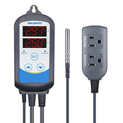 Inkbird ITC-310T 110V Pre-Wired Digital Temperature Controller Timer Temp time