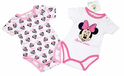 Disney Minnie Bodys 2er Pack, Gr. 74