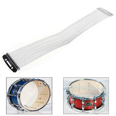 """20 Strand Dual Adjustable Snare Drum Wires 14"""" - Carbon Steel Wire"""
