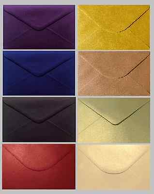 25 x C5 Shimmer / Pearlescent Envelopes (Various Colours Available)