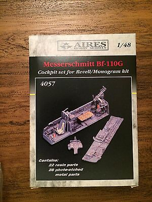 Aires 1/48 Messerschmitt Bf-110G Cockpit Set for Revell/Monogram Kit #4057