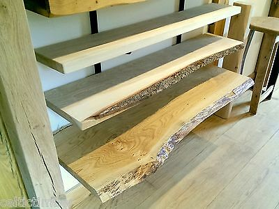 Kiln Dried Oak Boards Joinery Grade Solid Shelves Sills Skirting PLANED ONLY