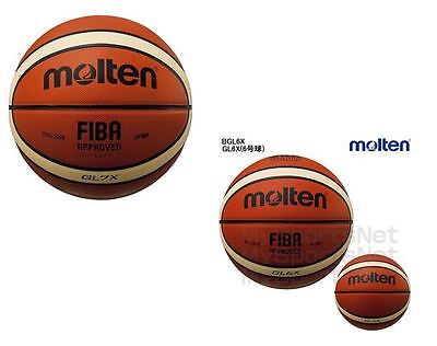 Molten GLX Full Leather Competition Basketball | Free Delivery Australia Wide