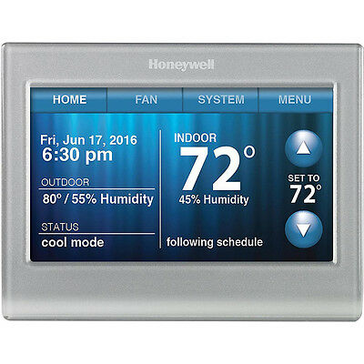 Honeywell Wi-Fi 9000 Touchscreen Thermostat - Silver