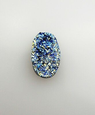 Natural Achat Druse Kristall cabochon 26.30 ct 331E