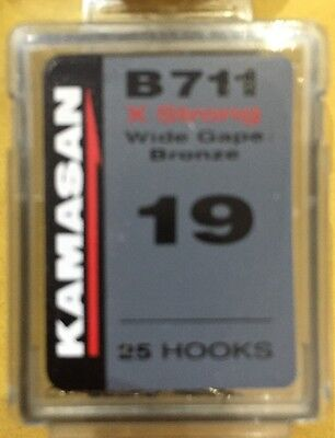 Kamasan B711 X Strong Wide Gape Bronze, Barbed Spades Boxes Of 25  Free P&P