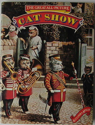 Vintage  Cat Book  The Great All-Picture  Cat Show