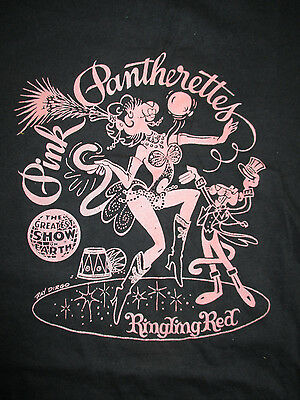 Vintage RINGLING BROS and BARNUM & BAILEY CIRCUS Pink Pantherettes (SM) T-Shirt