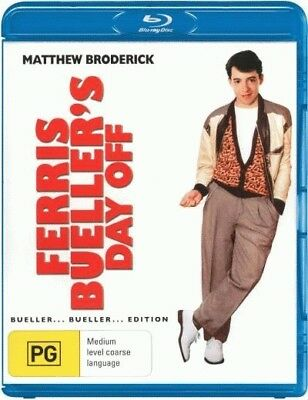 Ferris Bueller's Day Off - Matthew Broderick Blu-ray Region B New!