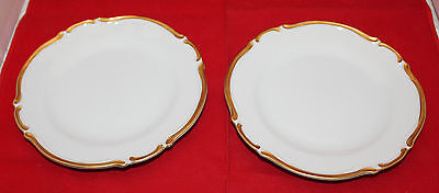 Harmony House Set of 2 Castlemore Golden Starlight Bread and Butter Side Plates