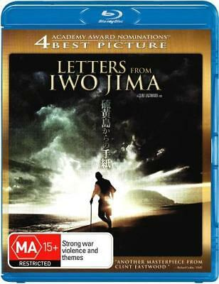 Letters From Iwo Jima Blu-ray Region B (New)!