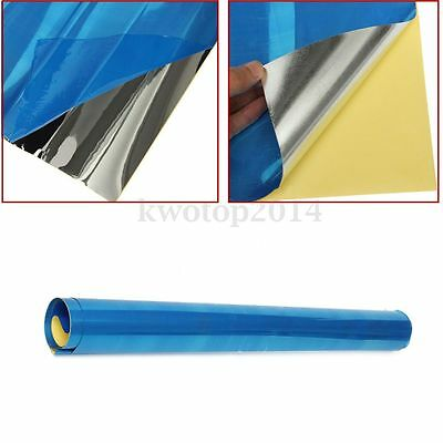 0.1mm Solar Reflective Film Self adhesive Mirror Sticker Contact Paper 0.5 x 2m