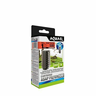 AQUAEL ASAP FILTER 500 CARBOMAX Replacement Sponge Cartridge 1pcs(nr 113746)