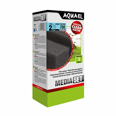 AQUAEL ASAP 700 PHOSMAX Replacement Filter Sponge 2pcs(nr 113741)