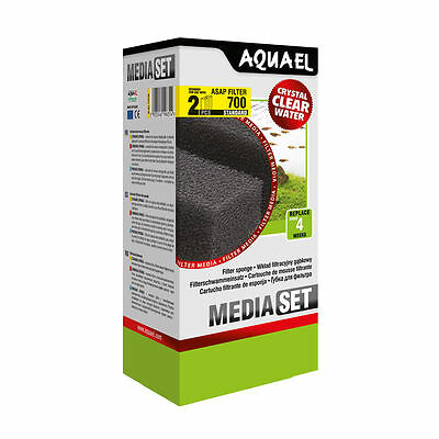 AQUAEL ASAP 700 STANDARD  Replacement Filter Sponge 2pcs(nr 113739)
