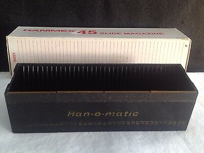 Hanimex 45 Slide Magazine in Box