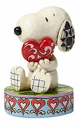 Snoopy Holding Heart I Love You Figurine Peanuts by Jim Shore