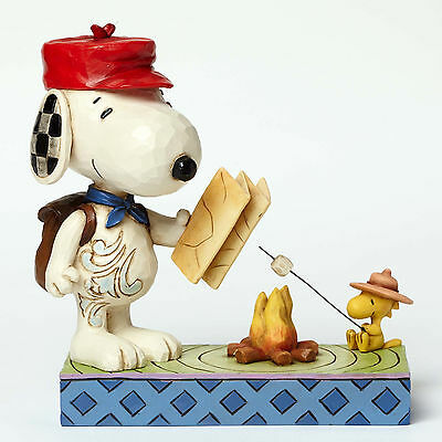 Snoopy and Woodstock Campfire Friends figurine by Jim Shore