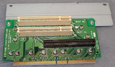 1997 Apple Computer Inc. Power Mac Pm 4400 3-Slot Riser Card P/n: 820-0882-A