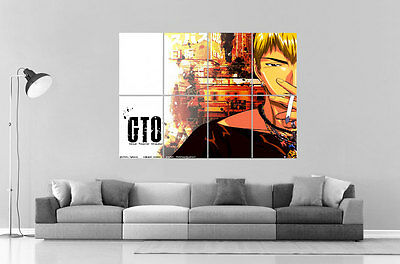 GTO Great Teacher Onizuka  Anime Manga Wall Art Poster Grand format A0