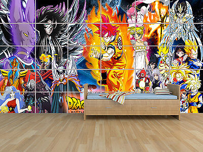 Dragon Ball Z Sangoku Geant Poster Huge Kids Massive Chambre Enfants Room Kids