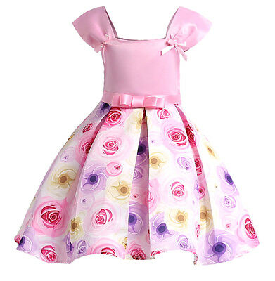 Vestito Bambina Abito Estate Principessa Girl Summer Princess Dress DG0024B P