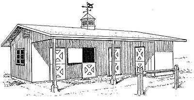 Horse Barns, Pasture and Other Plans and Helpful Ideas 30 Plans on CD FREE SHIP