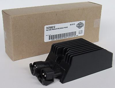 NEW 100% Genuine OEM Harley-Davidson Voltage Regulator Single Phase 14 Sportster