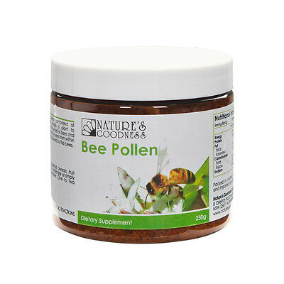 NEW Natures Goodness Bee Pollen Granules 250g