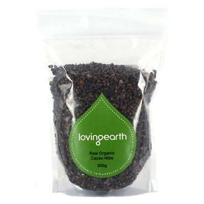 NEW Loving Earth Cacao Nibs 250gms