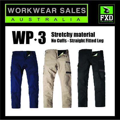 FXD Work Pants WP-3 New Style Mens Workwear Just Released For Winter 2016